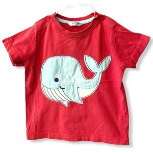 Baby Boden | Whale T-Shirt (12-18 mos) 🐳
